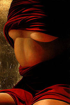 Torso With Gold Leaf by Toby Boothman