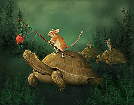 Tortoise Riders by Bethany Caskey