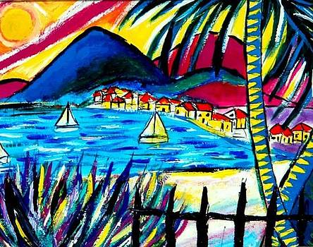 Tortola BVI by Ted Hebbler