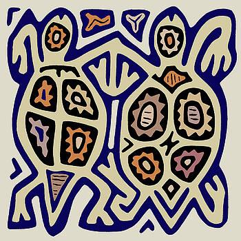 Tortuga Amigos by Vagabond Folk Art - Virginia Vivier