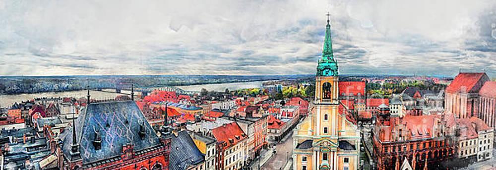 Justyna Jaszke JBJart - Torun city art 1