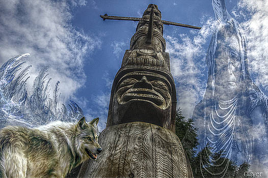 Totem Spirit by Bill Oliver