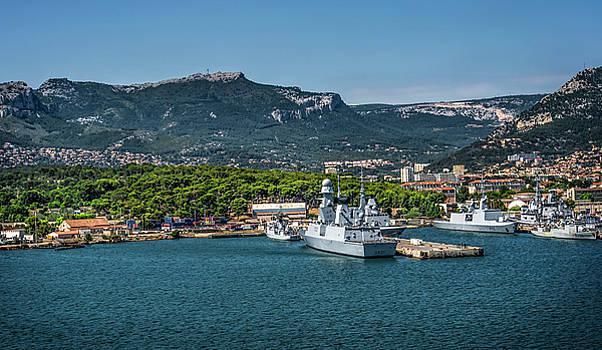 Toulon Harbor by Alida Thorpe