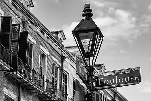 Toulouse and Royal BW by Jerry Fornarotto