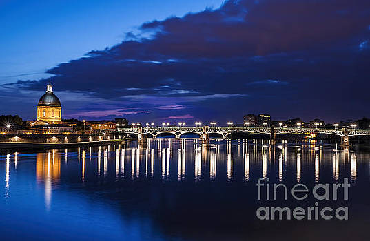 Toulouse Bridge 2 by Tony Priestley