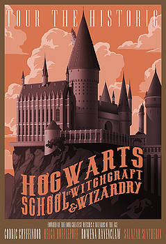 Tour Hogwarts Castle by Christopher Ables