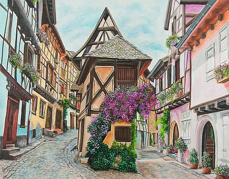 Charlotte Blanchard - Touring in Eguisheim