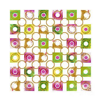 Tourmaline Reflections  6 by Pamela Johnson Design