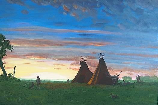 Toward the Setting Sun by Glenn Harden