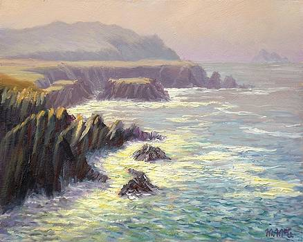 Towards Clogher Head from Ferriter's Cove by Michael McGuire