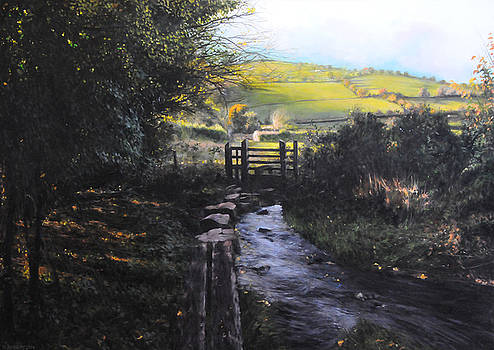 Towards Llanferres by Harry Robertson