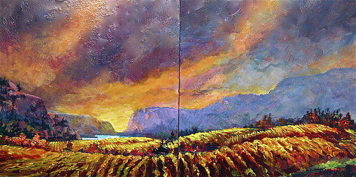 Towards McIntyre Bluff by Bonny Roberts