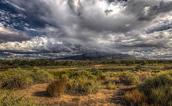 Towards Sandia Peak by Ross Henton