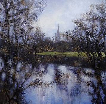 Towards St Alkmunds Church by Ruth Gray