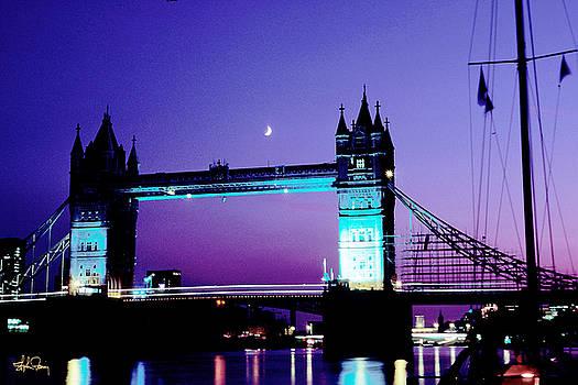 Tower Bridge at Twilight - London by Stephen Fanning