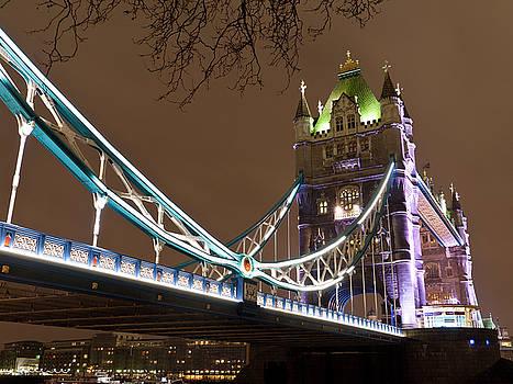 Tower Bridge Lights by Rae Tucker