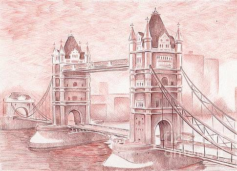 Tower Bridge by Oleg Kozelskiy