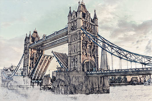 Tower Bridge by Pennie  McCracken