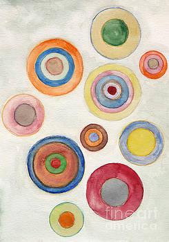 Tower Circles by Ebba Jahn
