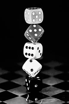 Tower dice  by Gerald Kloss
