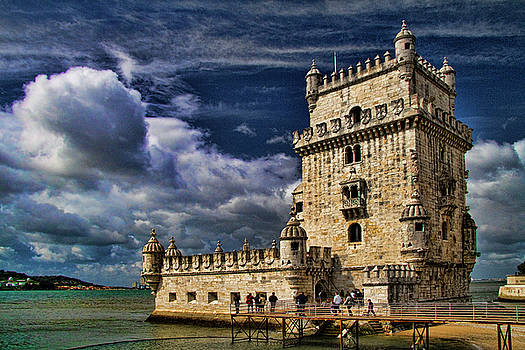 Tower of Belem in Lisbon by David Smith