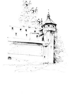 Tower of Malbork by Dariusz Kronowski