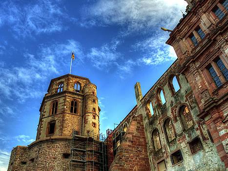 Tower of Schloss Heidelberg by Darin Williams