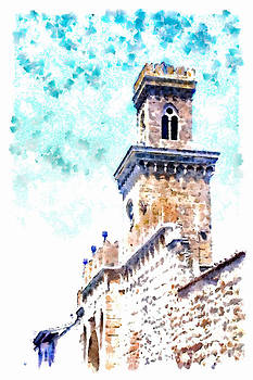 Tower of the walls by Giuseppe Cocco