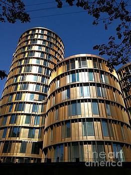 Towers in Copenhagen by Susanne Baumann