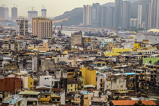Town in Macau by Hyuntae Kim