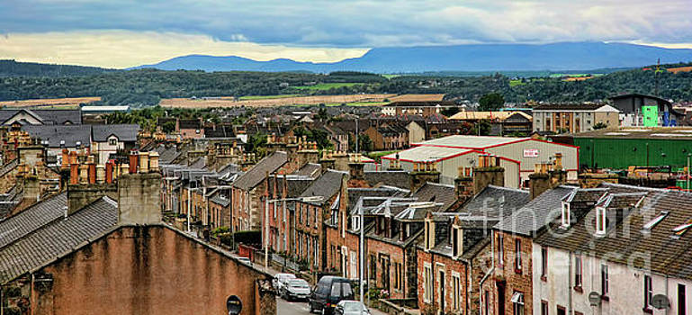 Chuck Kuhn - Town of Inverness Scotland