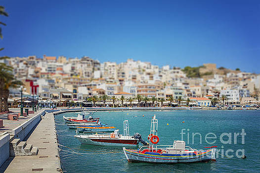 Sophie McAulay - Town of Sitia on Crete