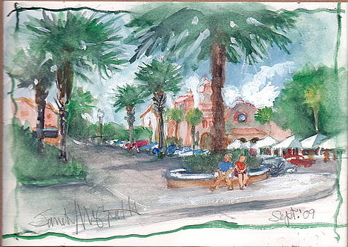 Town Sq. The Villages by Janet McGrath