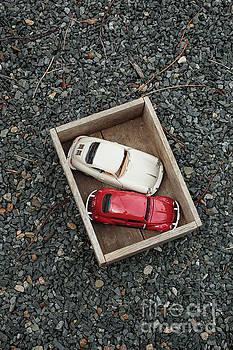 Edward Fielding - Toy cars in wooden box
