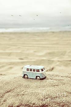 Jill Battaglia - Toy Van at the Beach