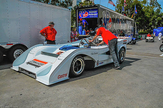 Toyota Grand Prix Pit by Tommy Anderson