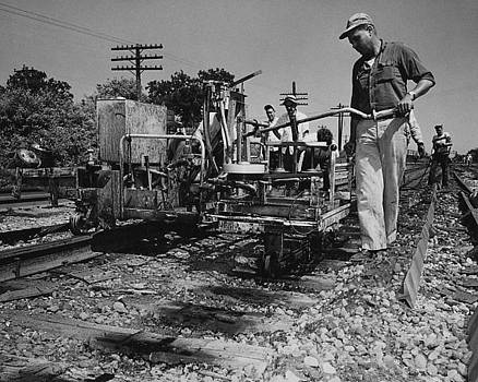 Chicago and North Western Historical Society - Track Machines at Work - 1959