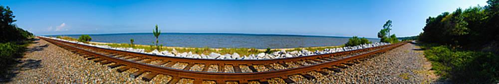 Tracks Panorama by Jon Cody