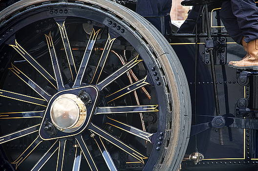 Traction engine.  by Christopher Rowlands