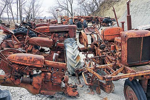 Tractor Bones by Christopher McKenzie