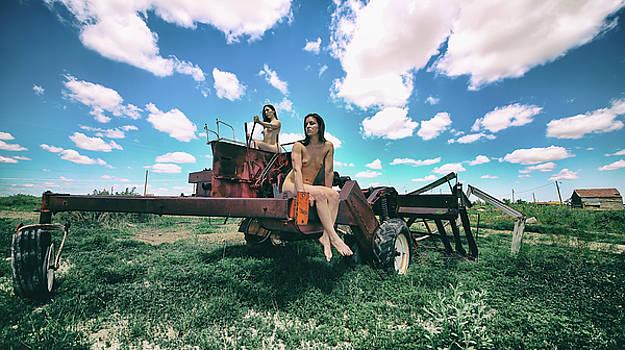 Tractor Girls by Sleepy Weasel
