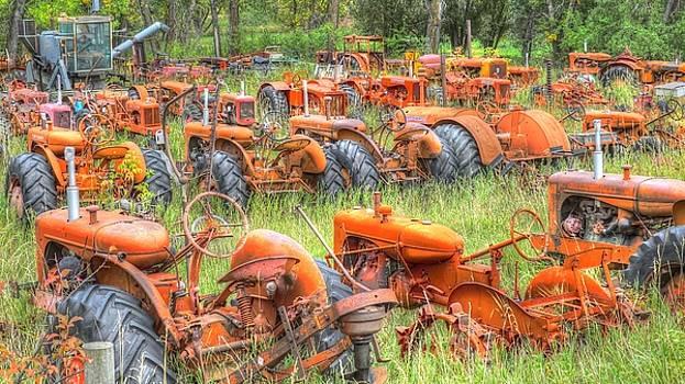 Tractor Graveyard by Lynette McNees
