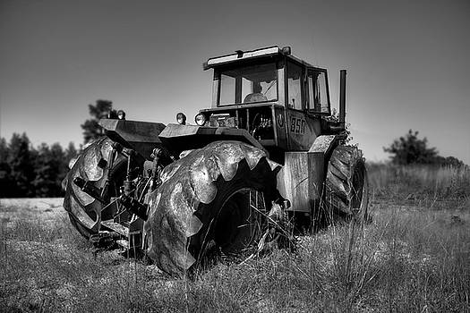 Tractor In The Countryside by Ester Rogers