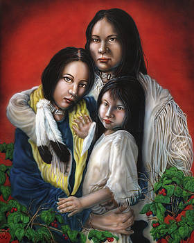 Traditional Family by Wayne Pruse
