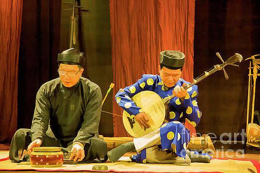 Chuck Kuhn - Traditional Music Vietnamese Paint