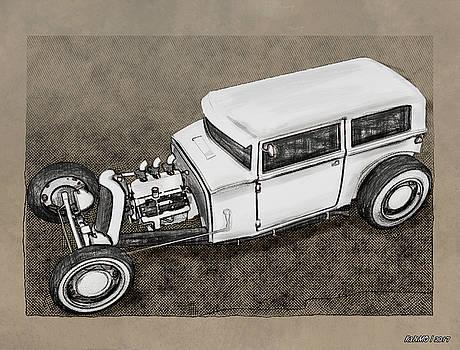 Traditional Styled Hot Rod Sedan by Ken Morris