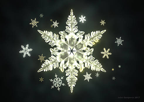 Traditional Sunlight Snowflakes by Jules Gompertz