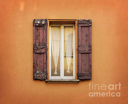 Sophie McAulay - Traditional window with shutters