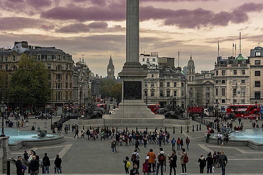 Trafalgar Square by Nicolas Artola