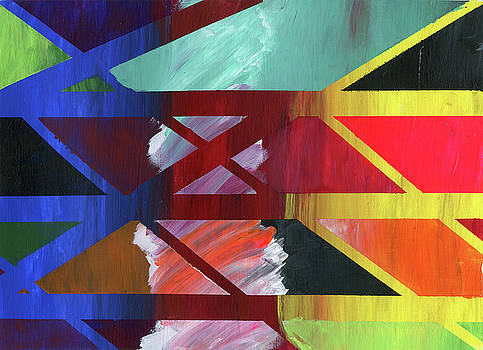 Traffic Pattern by Neliza Drew